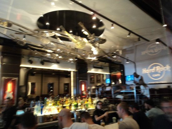 Hard Rock Cafe Barcelona: interno