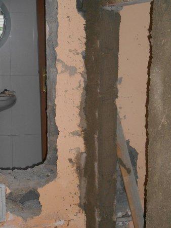 Hotel Pontao: Building works
