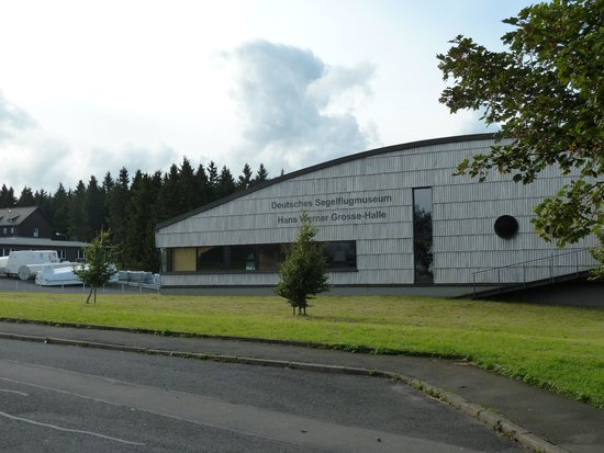 Wasserkuppe Gersfeld: Museum für Segelfliegerei