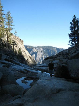 Just Roughin' It Adventure Company: Top of Yosemite falls