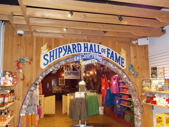 Shipyard Brewing Company : Entrance to the tasting room