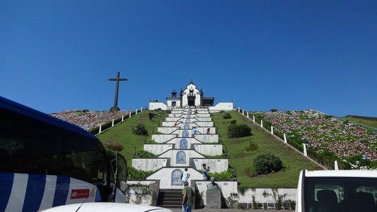 Nossa Senhora da Paz: La Chiesa vista dal basso