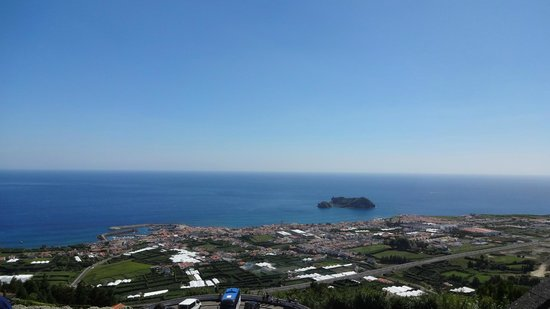 Nossa Senhora da Paz: Panorama di VillaFranca dall'alto