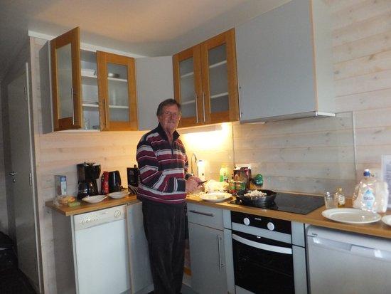 Sommaroy Arctic Hotel Tromso: Kitchen