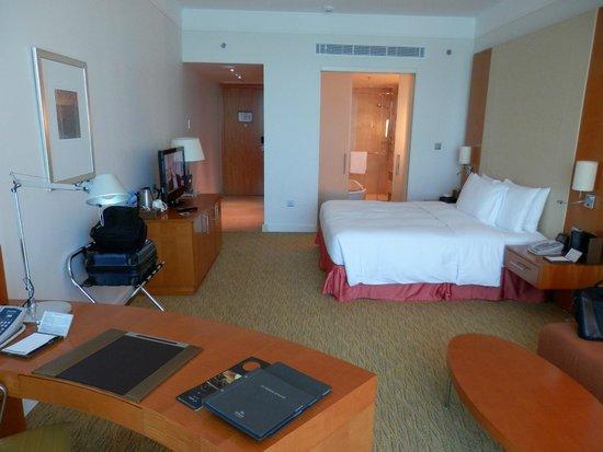 Hilton Doha: Room view