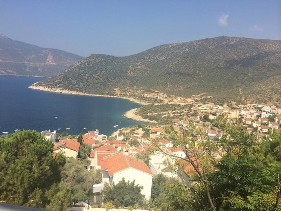 Happy Hotel Kalkan : view from our balcony