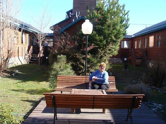 Hosteria Hainen: Jardin central