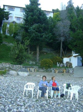 Muguet: Vista del ]Aparta desde la playa del lago