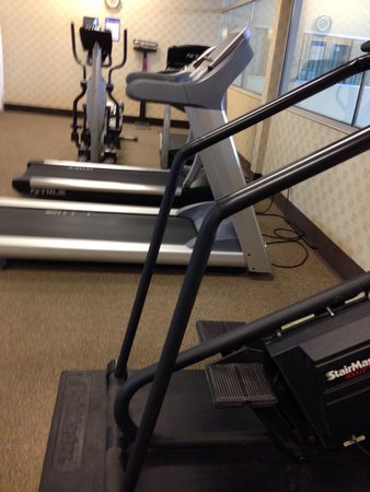 Holiday Inn Flint: This is a gym?