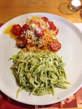 Pizzeria Bellini: Duetto di pasta