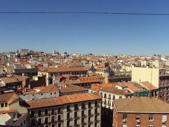 Tryp Madrid Plaza Espana Hotel : Vista desde la terraza de Madrid