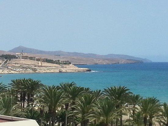 B Side Café Fuerteventura : vista dalla terrazza