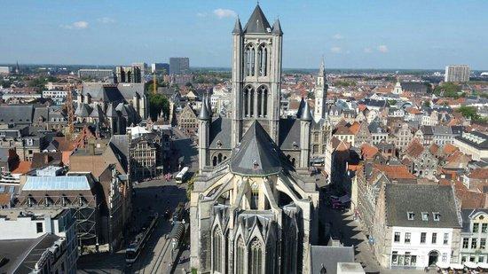 Saint Nicholas Church: Vista desde el Belfort