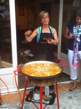 ‪‪Marta's Private Paella Cooking Classes‬: Marthas Paella‬