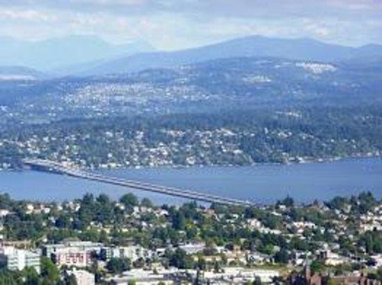 Sky View Observatory : Mountains & Bridge