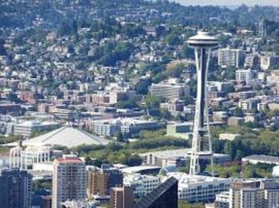 Sky View Observatory : Different angle of Space Needle