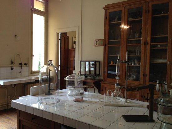 Musee Curie: Laboratório de Marie Curie