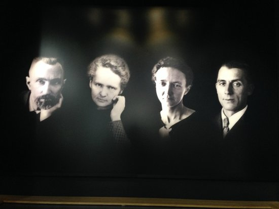Musee Curie: Família Curie