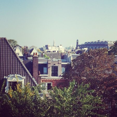 Prinsengracht Hotel: The view