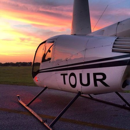 Orange Beach Helicopter Tours Evening At The
