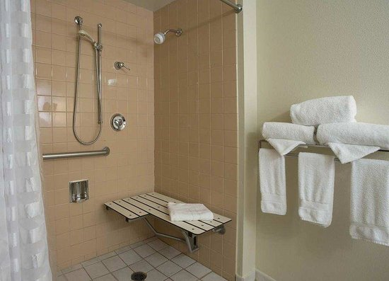 Accessible Roll In Shower Picture Of Embassy Suites By