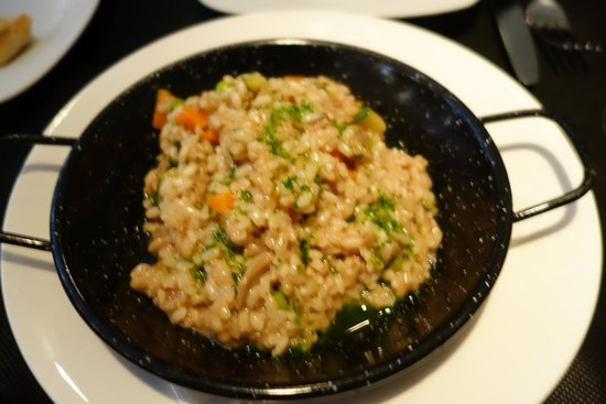 Bruc33Tapas : The risotto is excellent