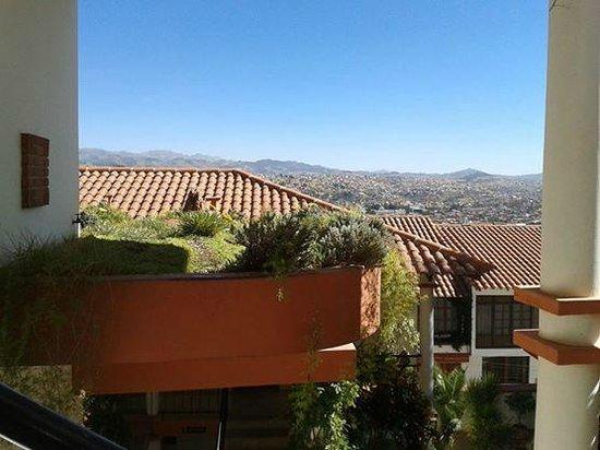 Hotel Casa Kolping Sucre: Vista