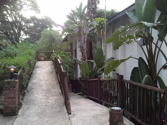 Karula Hotel: Going to the luxury rooms