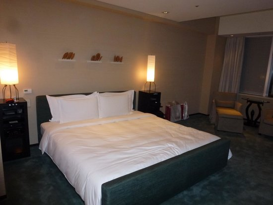 โรงแรมพาร์ค ไฮแอท โตเกียว: Notre chambre au 46è étage