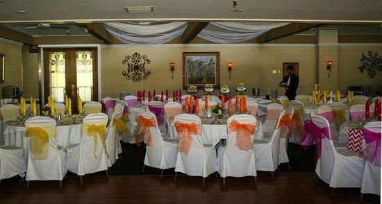 San Vicente Golf Resort : Wedding Reception in the San Vicente Room