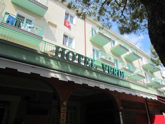 Hotel Verdi: Главный вид