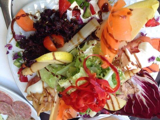 Restaurante Juquim: Ensalada