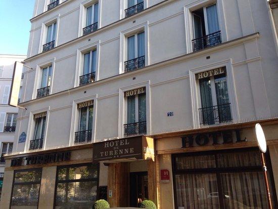Hotel Eiffel Turenne: Facade