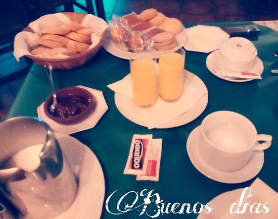Hotel Rural Casa Cueto: desayuno casa cueto