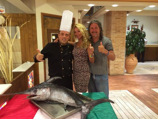 Aldemar Knossos Royal : Great chef Peters