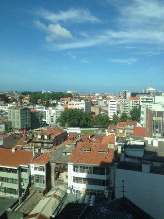 Dom Henrique Hotel: View from 9th floor