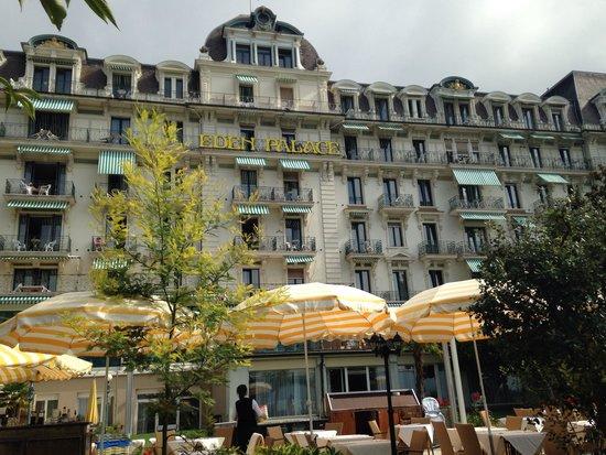 Eden Palace au Lac: Main hotel