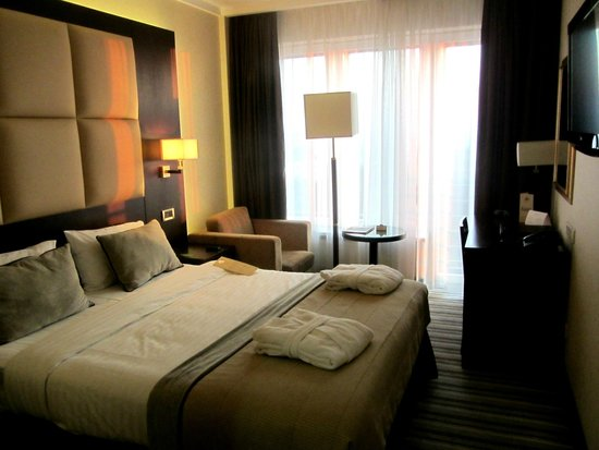 Dnister Hotel: номер Премьер