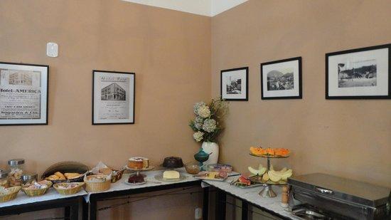 Hotel Grao Para: café da manhã