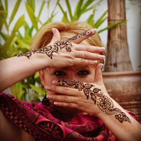 Riad l'Orangeraie: Henna for the bride