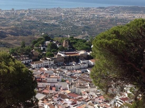 Mijascasa Villa La Jamisa: View of Mijas from Church