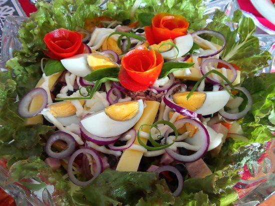 """Little Italy Hotel: Our best sale salad at the Restaurant """"Mixed Salad"""""""