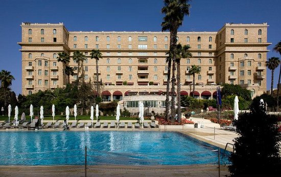 The King David : Hotel exterior and swimming pool