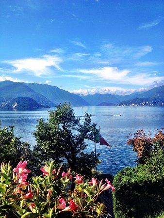 Hotel Villa Cipressi: View from garden