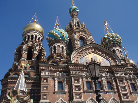 Alla Tours : Cathedral of Blood, St Petersburg