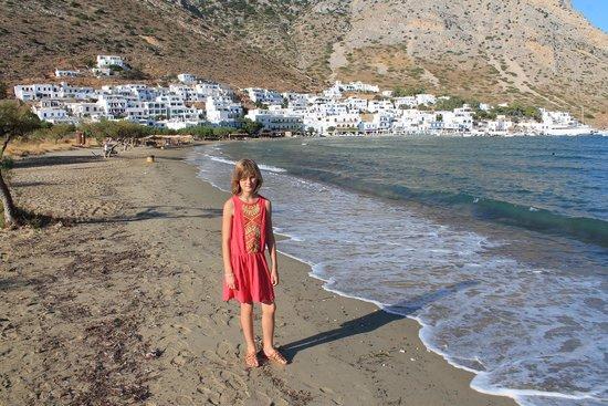 Camping Makis: la plage juste à côté
