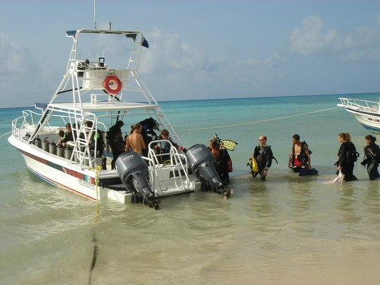 Phocea Mexico: Départ pour la plongée depuis la plage
