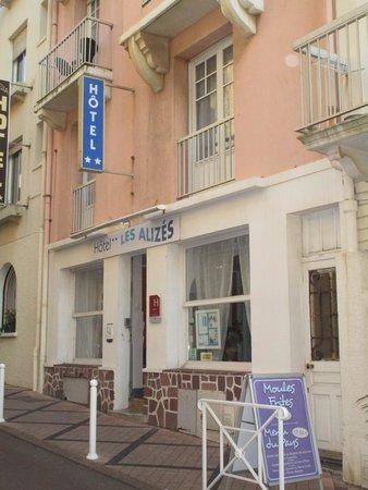 "Hotel Les Alizes Biarritz: Hôtel "" les Alizés"" biarritz"
