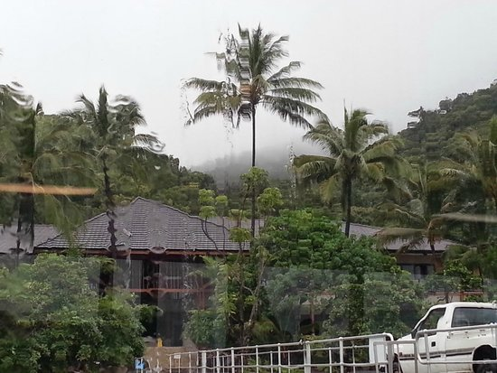 Fitzroy Island Resort : Rain