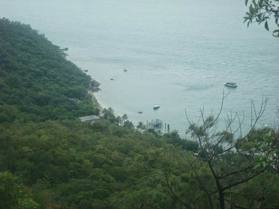 Fitzroy Island Resort : view from the top